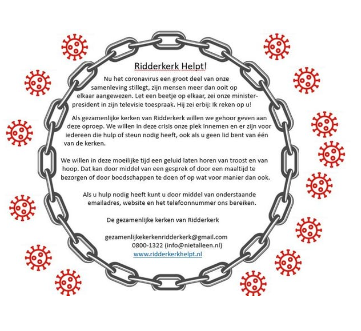 Advertentie Ridderkerk Helpt