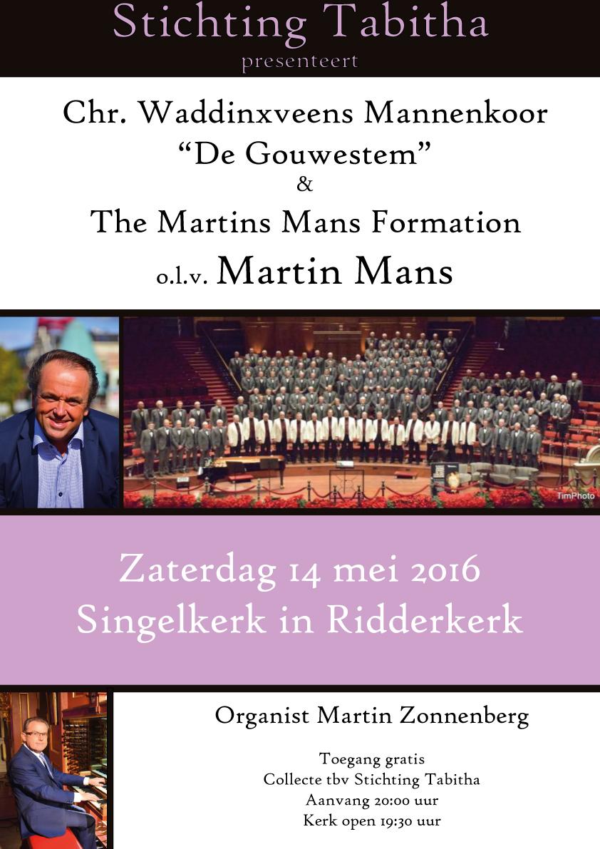 Flyer concert tabitha 14 mei 2016