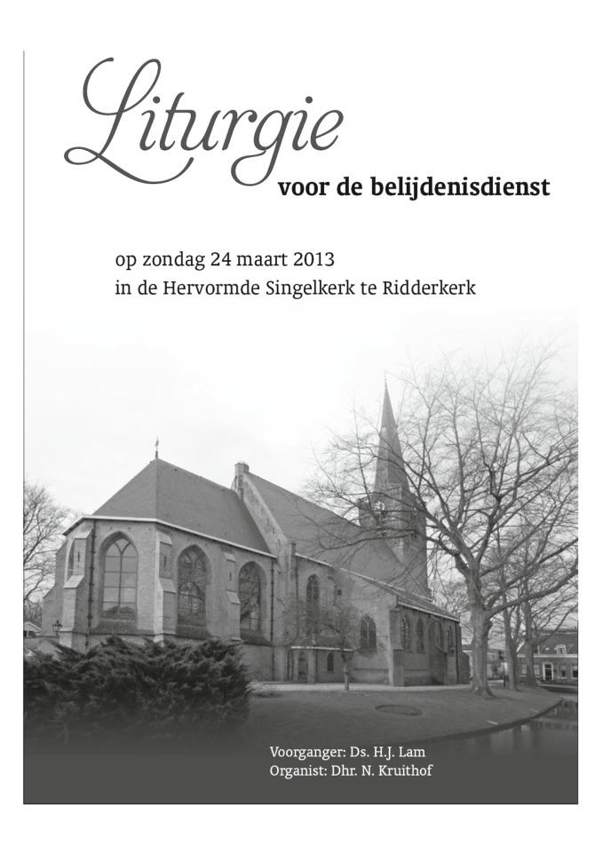 Liturgie 24032013