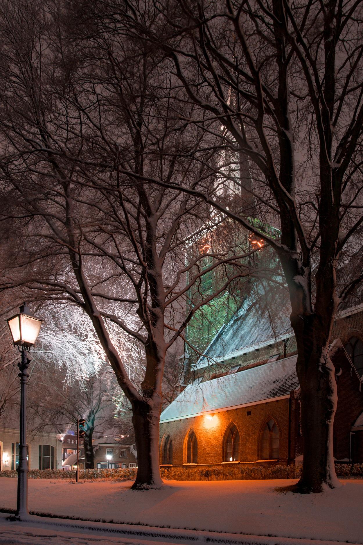 Singelkerk sneeuw december 2017 4606 5