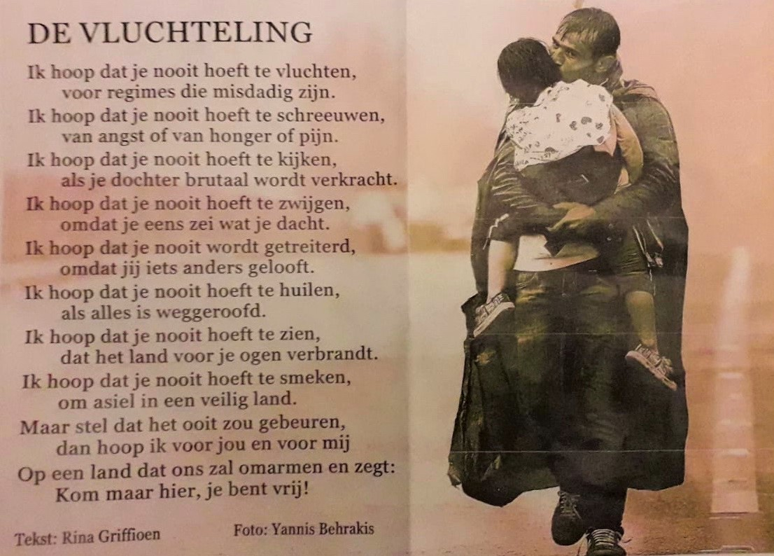 gedicht vluchteling