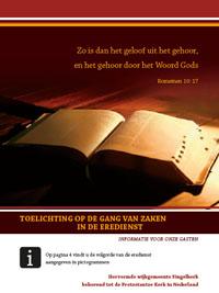 brochure erediensten